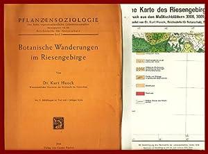 Pflanzensoziologie - Band 3: Botanische Wanderungen im Riesengebirge: Hueck, Kurt: