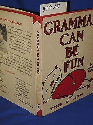 Grammar Can Be Fun: Leaf, Munro and