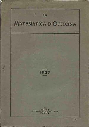 La matematica d'officina - 1937: Callabioni, Asrael