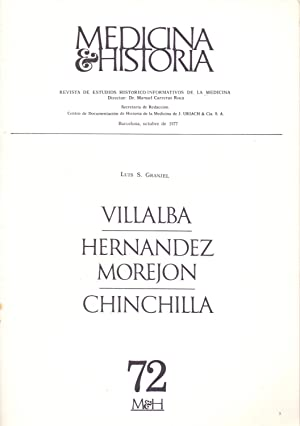 VILLALBA - HERNANDEZ MOREJON - CHINCHILLA -: Luis S. Granjel