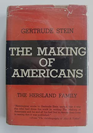 The Making of Americans [first abridged edition, in jacket]