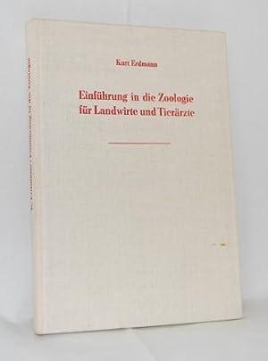 Einführung in die Zoologie für Landwirte und: Erdmann, Kurt: