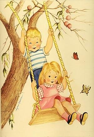 "ORIGINAL CHILDREN'S BOOK ART, ""LITTLE BOY &: ORIGINAL CHILDREN'S BOOK"