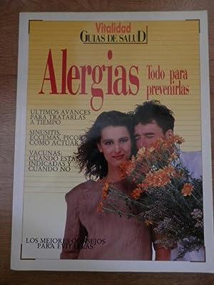 Guías de salud. Vitalidad, 20. Alergias. Todo: Mercedes Cimarra y