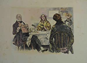 People of Dickens drawn by C.D. Gibson.