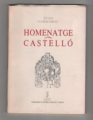 Homenatge a Castelló: GARRABOU, Joan