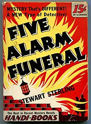 Five Alarm Funeral (Handi-Book Mystery No. 23)