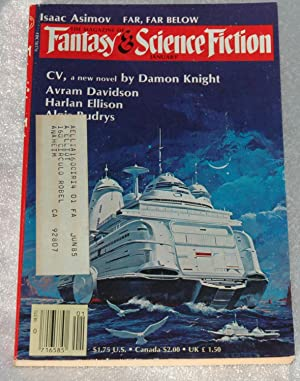 The Magazine of Fantasy and Science Fiction: Ellison, Harlan; Algis