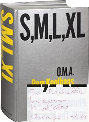 S, M, L, XL [Small, Medium, Large, Extra-Large] (First Edition, inscribed by Koolhaas in January ...