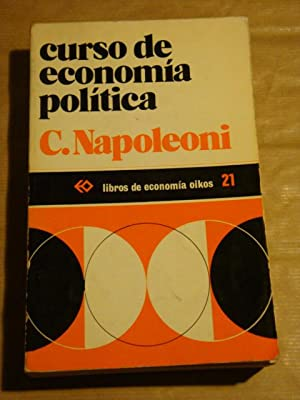 Curso de economía política: C. Napoleoni