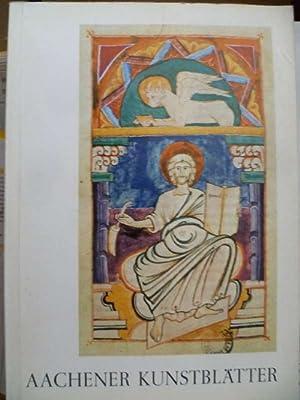 Aachener Kunstblätter. Herausgegeben vom Museumsverein Aachen.: Ludwig, Peter