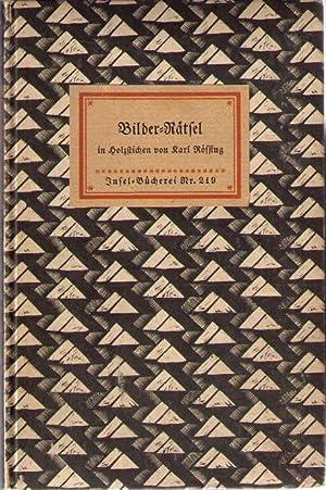 Bilder-Rätsel in Holzstichen von Karl Rössing,: Insel-Bücherei: