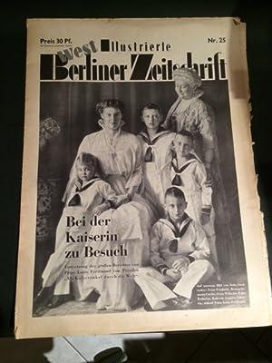 Illustrierte (West) Berliner Zeitschrift - 7. Jahrgang, Nr. 25 vom 22. Juni 1952: Abonyi, Bela von: