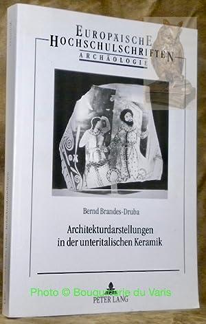 Architekturdarstellungen in der unteritalischen Keramik.: BRANDES-DRUBA, Bernd.
