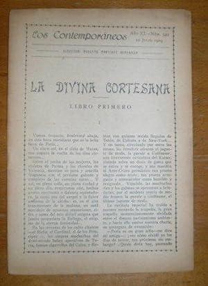 LA DIVINA CORTESANA.: LINARES, Antonio G.