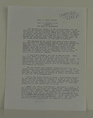 2001: A Space Odyssey TYPESCRIPT: Clarke, Arthur C.