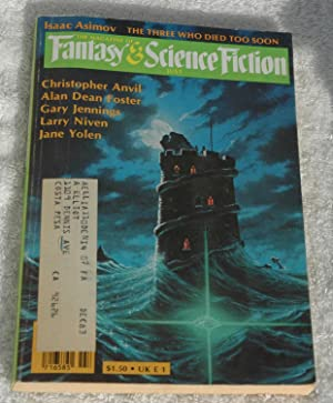Magazine of Fantasy and Science Fiction July: Kilworth, Gary; Anvil,