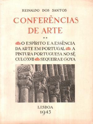 CONFERÊNCIAS DE ARTE: SANTOS. (Reinaldo dos)