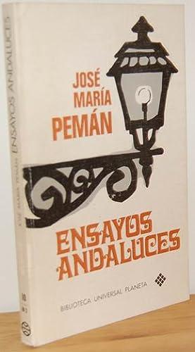 ENSAYOS ANDALUCES: JOSÉ MARÍA PEMÁN