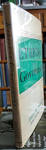 Ethics in Government.: DOUGLAS, Paul H. [Howard] (1892-1976):