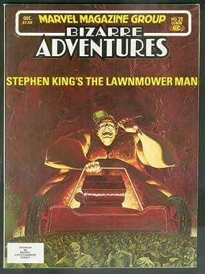 LAWNMOWER MAN By Stephen King in BIZARRE: KING, STEPHEN. --