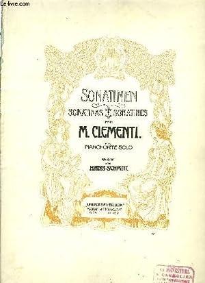 SONATINEN (SONATINAS-SONATINES): CLEMENTI M.
