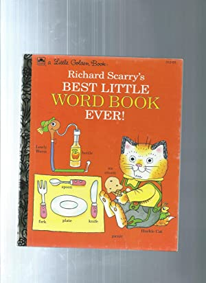Richard Scarry's Best Little Word Book Ever!: Scarry, Richard