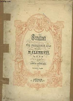 SONATINEN FÜR PIANOFORTE SOLO.: CLEMENTI M.