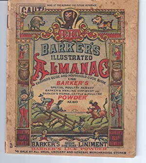 BARKER'S ILLUSTRATED ALMANAC: Farmer's Guide and Household: Corporate Authors