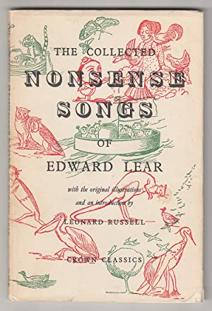 The Collected Nonsense Songs of Edward Lear: Lear, Edward (Russell, Leonard - Introduction)