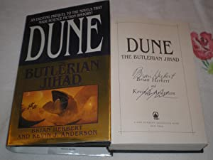 Dune: The Butlerian Jihad: DUAL SIGNED