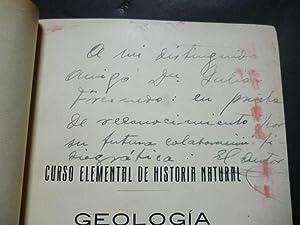 Geología por. Doctor en Ciencias Naturales. Curso: Cendrero Curiel, Orestes.