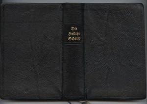 Die heilige Schrift nach der deutschen Übersetzung: Luther, Dr. Martin: