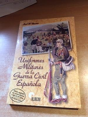 Uniformes militares en la Guerra Civil Española: Bueno, Jose Maria: