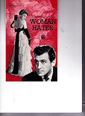 J. Arthur Rank Presents WOMAN HATER. Opens at the Odeon Theatre Marble Arch, on Thursday October ...