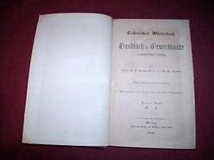 Technisches Wörterbuch oder Handbuch der Gewerbkunde in alphabetischer Ordnung. Dritter Band: Q - Z...