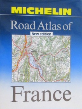Michelin Road Atlas of France- New Edition