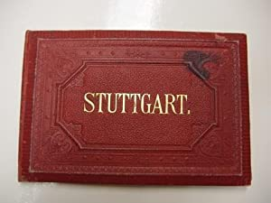 Stuttgart - Leporello 1890 Leporello-Album: Glaser, Louis.