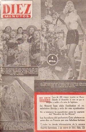 REVISTA DIEZ MINUTOS. AÑO 1954: VV. AA.