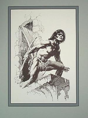 Edgar Rice Burroughs 10 Sun Bronzed Flesh: Frank Frazetta
