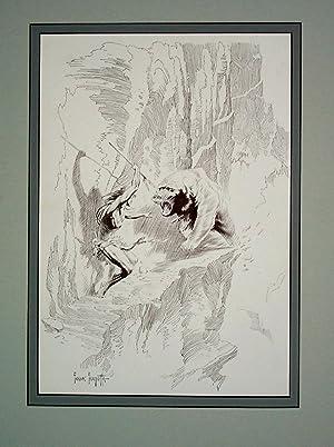 Edgar Rice Burroughs 21 Tarzan Waited -: Frank Frazetta