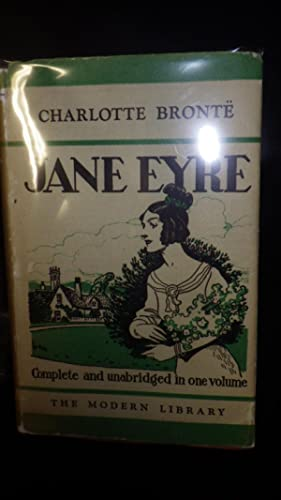 JANE EYRE , STATED 1st Modern Library: Charlotte Bronte,. [1816