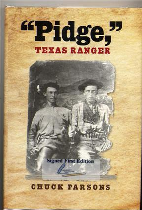 "Pidge, "" Texas Ranger.: Parsons, Chuck."