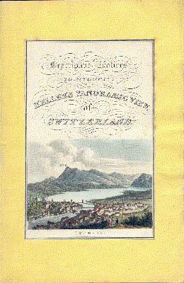 A companion to Keller`s panorama of Switzerland;
