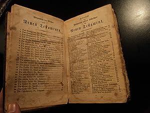 1837 Philadelphia Printing of Martin Luther Bible / German / Americana Mentz: Martin Luther