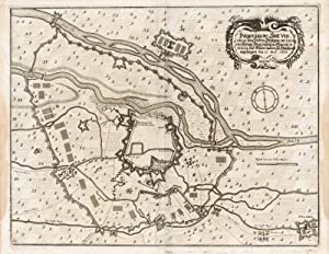 Belagerung der Statt Vercelli .: Merian Matthaus