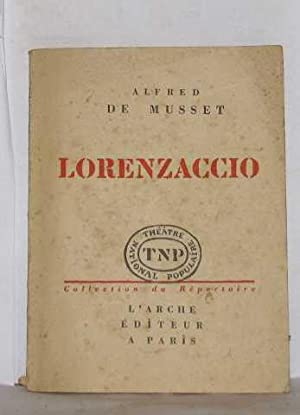 Image du vendeur pour Lorenzaccio mis en vente par crealivres