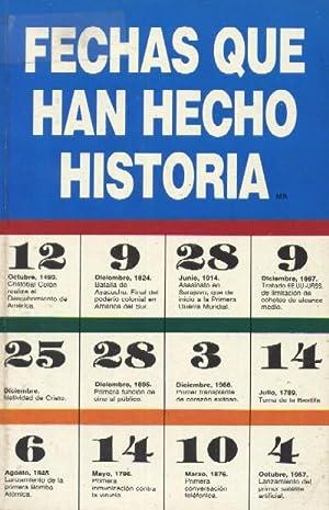 FECHAS QUE HAN HECHO HISTORIA: ALVAREZ DEL REAL,
