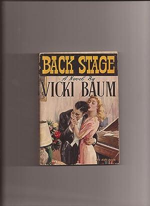Imagen del vendedor de Back Stage a la venta por Lakeshore Books