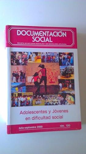 Adolescentes y Jóvenes en Dificultad Social: Melendro Esteganía, Miguel;